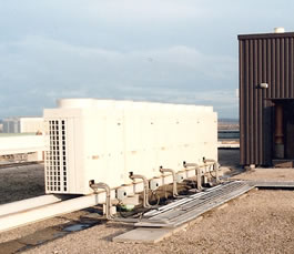 Roof mounted VRV Condensing Units
